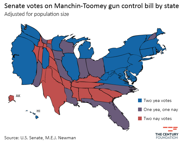 The Tyranny Of The Minority Is A Lot More Real Than The Opposite - Senate map us