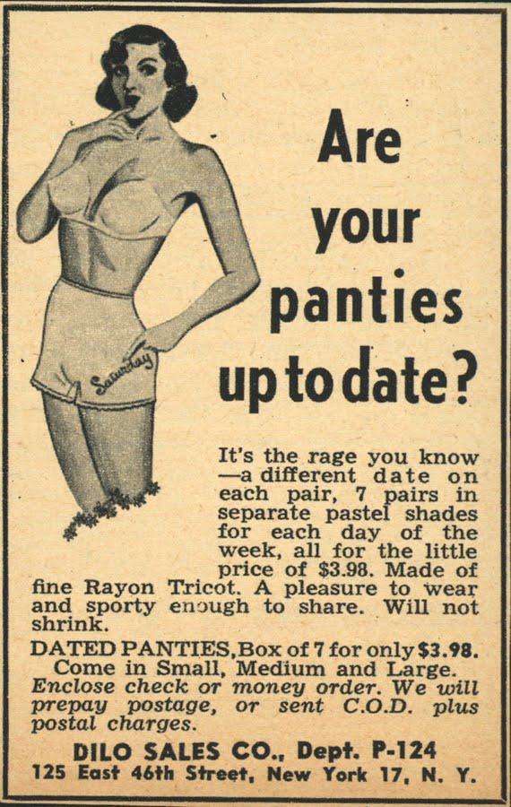 It's Friday on my Panties