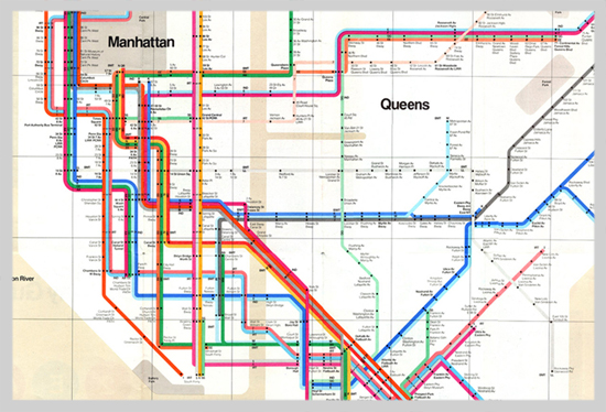 Printed Nyc Subway Map.The Designer Of Nyc S Subway Map Dead The Polislice
