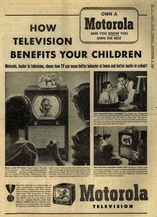 benefits of tv