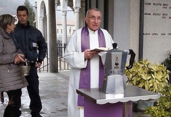 Italy Bialetti Moka Funeral