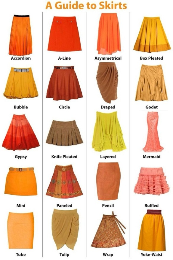 types-of-skirts-guide